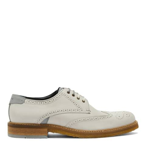 Ted Baker Grey Leather Prycce Derby Shoe