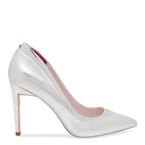 Ted Baker Silver Court Shoe