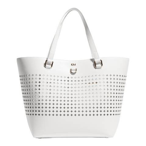 Karen Millen White Perfect Tote Bag