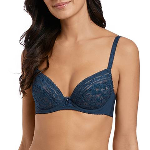Wacoal Deep Blue Eternal Padded Plunge Bra