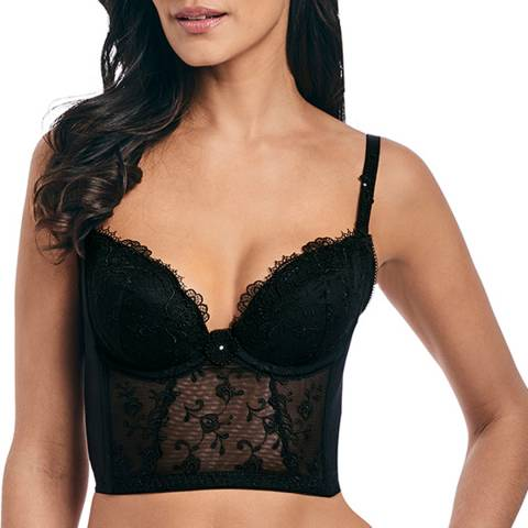 Wacoal Black Opulence Backless Bralette