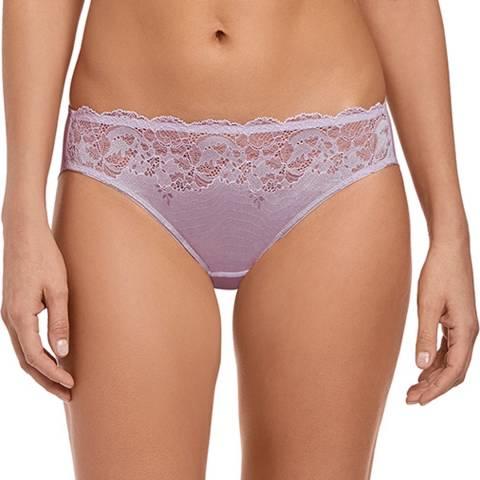 Wacoal Lilac Marble / Pastel Lilac Lace Affair Bikini