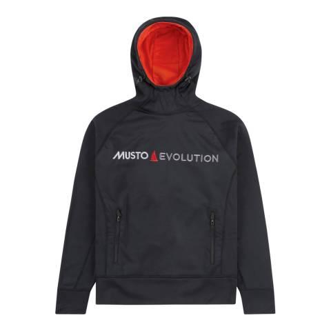 Musto Black Evo Original Logo Hoody
