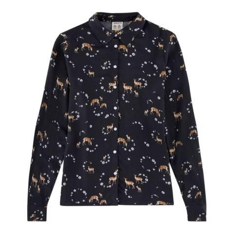 Musto Black/Multi Country Pattern Shirt