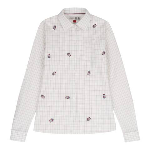 Musto White/Multi Tattersall Check Shirt