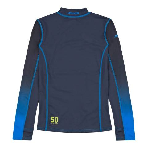 Musto Navy Long Sleeve Top