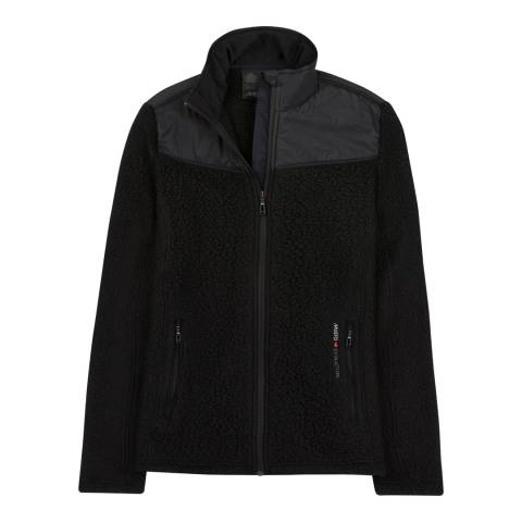 Musto Black Shearling Pt Fleece