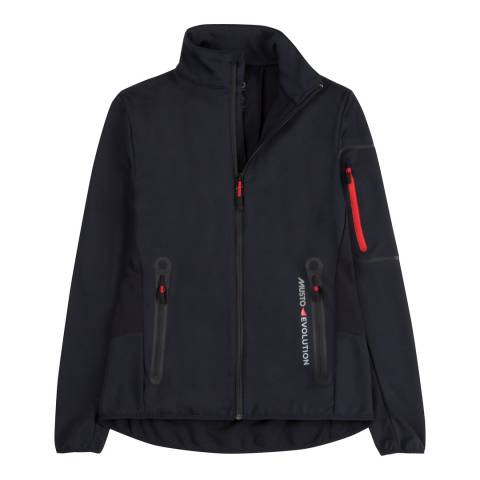 Musto Black Elemental Windstopper Softshell Jacket