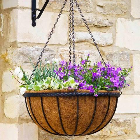 """Smart Garden 14"""" Saxon Basket"""