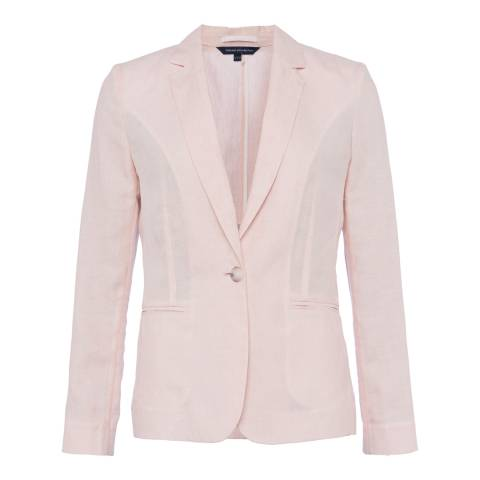 French Connection Pink Haiti Linen Jacket