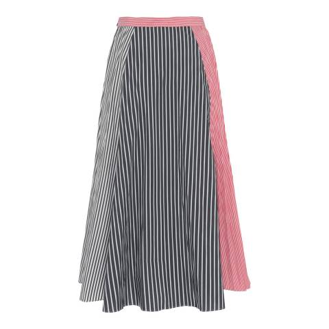 French Connection Multi Carolie Cotton Skirt