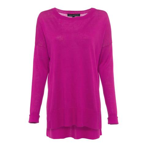 French Connection Magenta Spring Light Knits
