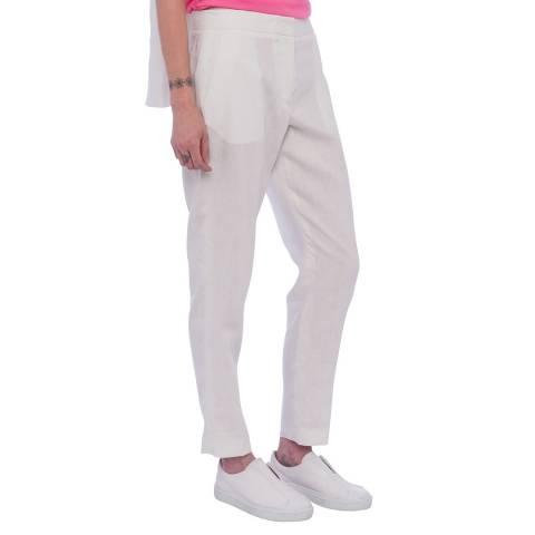 French Connection Summer White Haiti Linen Trouser