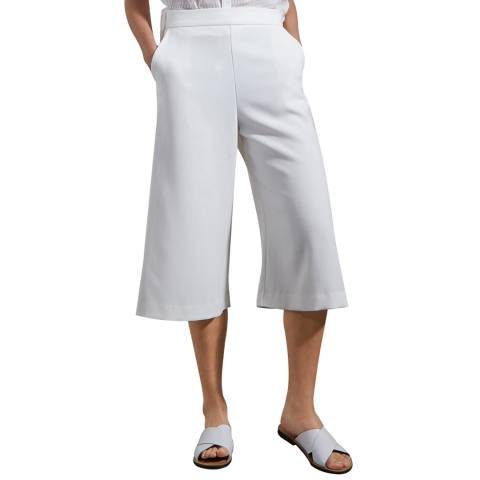 French Connection White Wisper Ruth Culottes