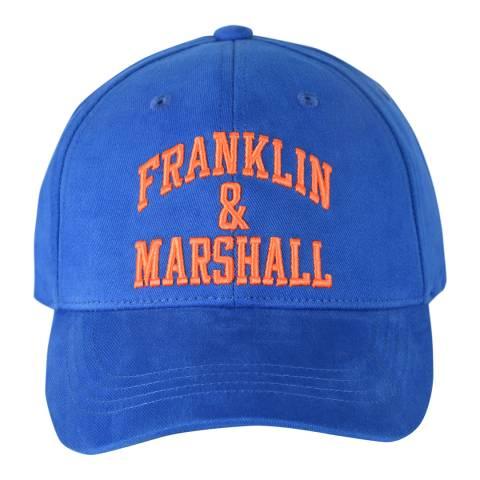 Franklin & Marshall Nautical Blue Franklin Logo Cap