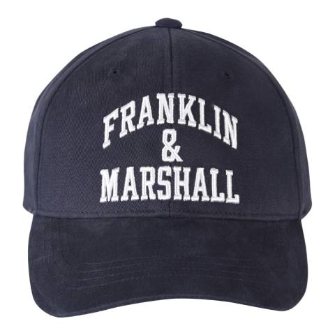 Franklin & Marshall Navy Franklin Logo Cap