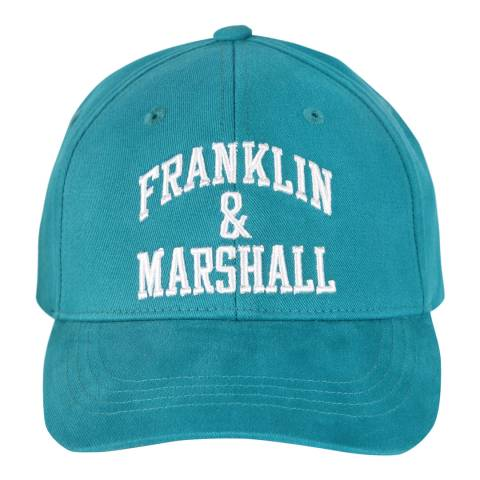 Franklin & Marshall Shark Tale Franklin Logo Cap