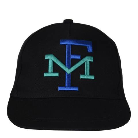 Franklin & Marshall Black Franklin Cap