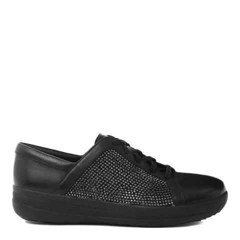 FitFlop Black F-Sporty II Swarovski Crystal Sneaker