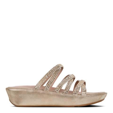 FitFlop Silver Linny Swarovski Crystal Sandal