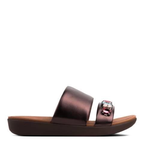 FitFlop Berry Delta Bejewelled Slide Sandal