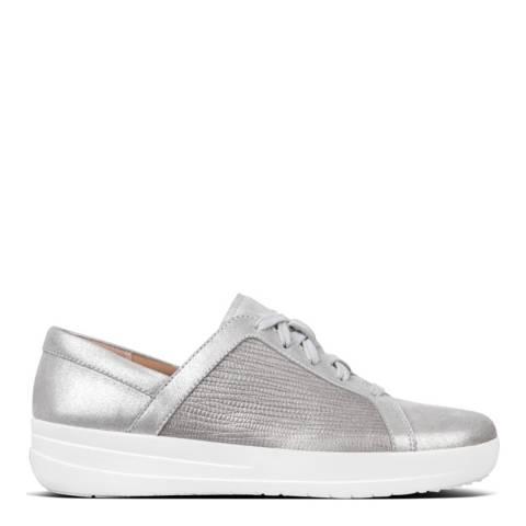 FitFlop Metallic Silver F-Sporty II Sneaker