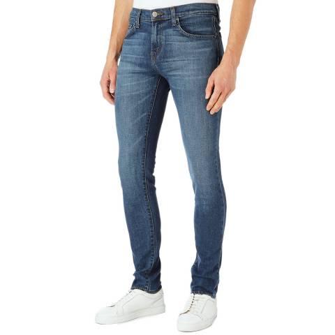 J Brand Blue Mick Skinny Stretch Jeans