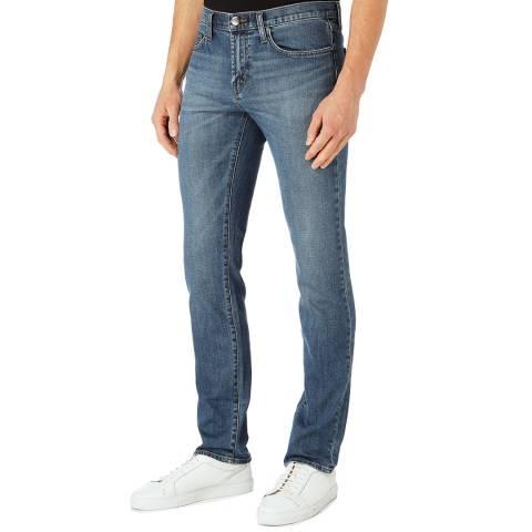 J Brand Mid Blue Tyler Slim Stretch Jeans