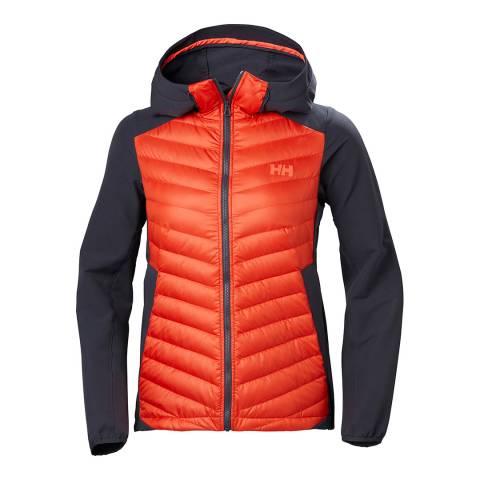Helly Hansen Navy/Orange Verglas Light Jacket