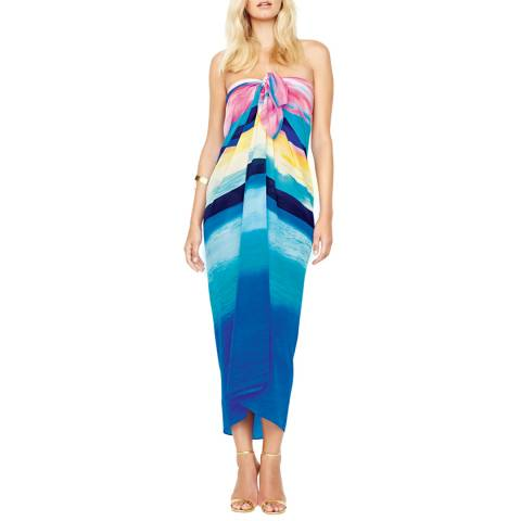 Gottex Blue/Pink Ombre Stripe Pareo