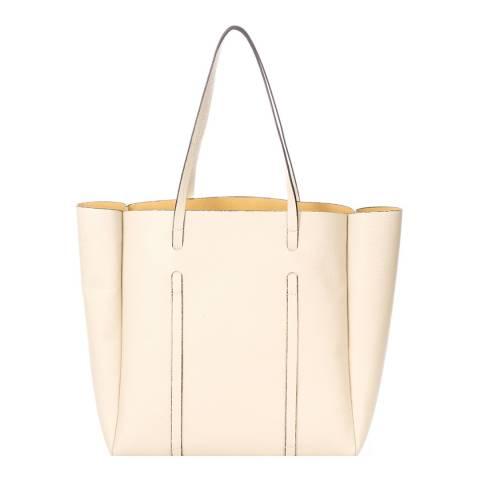 Giorgio Costa Taupe Leather Shoulder Bag