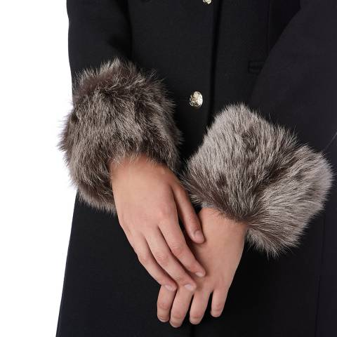 N°· Eleven Natural Shearling Cuffs
