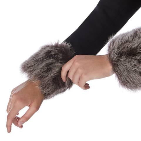N°· Eleven Natural Shearling Cuffs