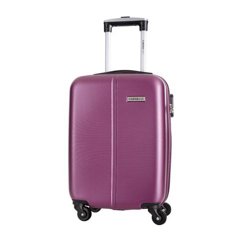 Cabine Size Violet 4 Wheel Juice Cabin Suitcase 46cm