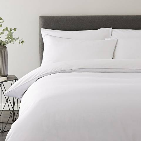 Content by Terence Conran Micro Check Single Duvet Cover Set
