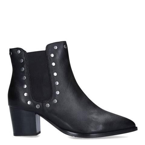 Carvela Black Leather Scandelous Ankle Boots
