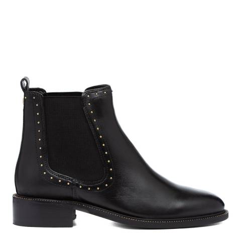 Carvela Black Thank Studded Chelsea Boots