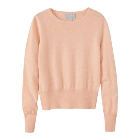 Pure Collection Pale Pink Cropped Jumper