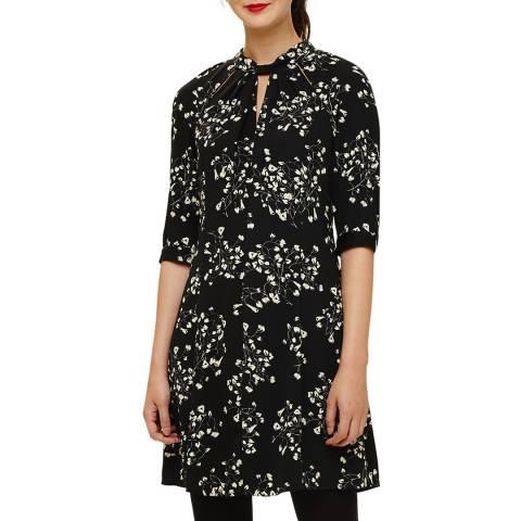 Phase Eight Black Carolina Floral Dress