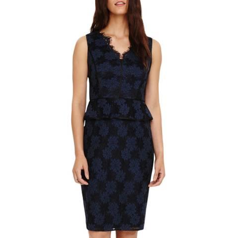 Phase Eight Navy Farrah Lace Dress