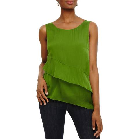 Phase Eight Lime Silk Kit Blouse