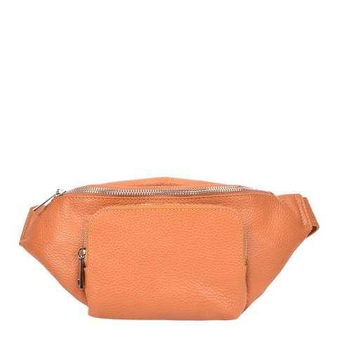 Renata Corsi Cognac Leather Waist Bag