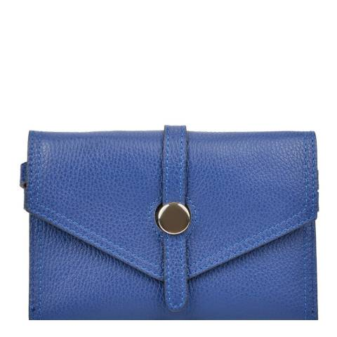 Renata Corsi Blue Leather Waist Bag