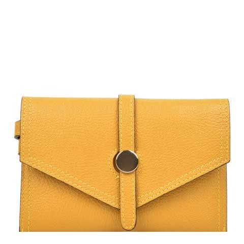 Renata Corsi Yellow Leather Waist Bag
