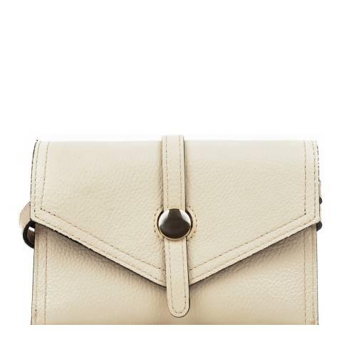 Renata Corsi Beige Leather Waist Bag