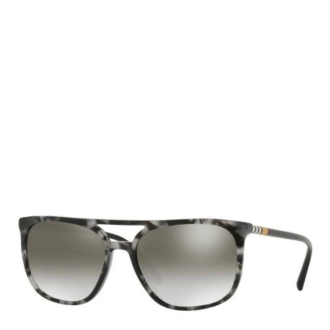 Burberry Women's Black/Grey Sunglasses 57mm