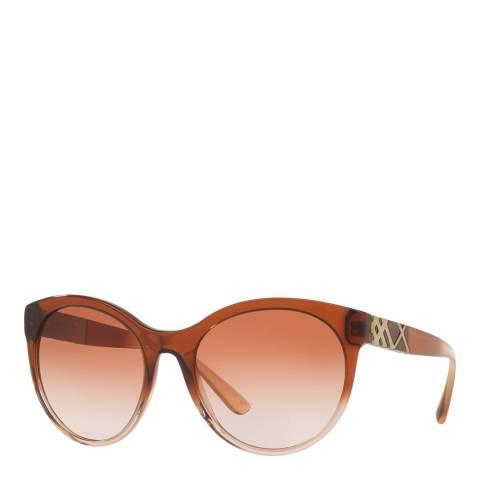 Burberry Women's Brown Sunglasses 56mm