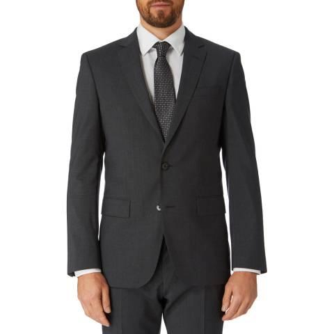 BOSS Charcoal Huge Slim Fit Jacket