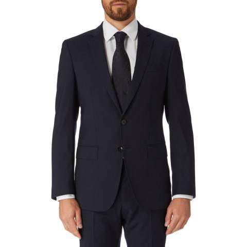 BOSS Navy Huge Slim Fit Jacket