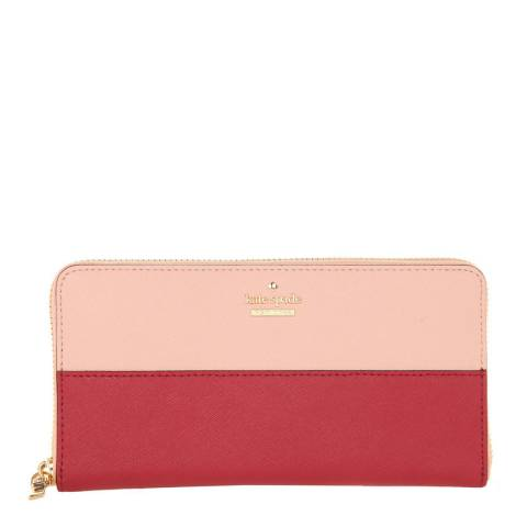Kate Spade Pink/Red Cameron Street Lacey Purse